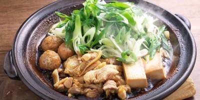馳走いなせやの地鶏のすき焼 (1)