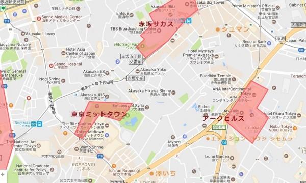 赤坂六本木桜マップ_レストラン