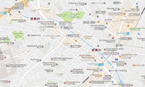 中目黒_桜マップ